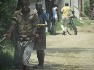 The streets of Haiti